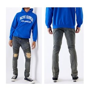 NWT - PacSun Moto Stacked Skinny Denim Jeans